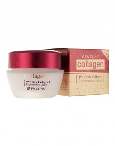 "Лифтинг Крем для кожи лица ""Коллаген Регенерир"" Collagen Regeneration Cream, 3W Clinic, 60 мл 2"