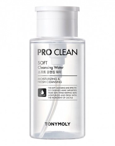 Очищающая вода Pro Clean Soft Cleansing Water, Tony Moly 1