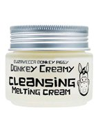 Крем для лица на основе ослиного молока Donkey Creamy Cleansing Melting Cream Elizavecca, 100 г
