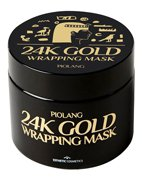 Маска для лица с 24-каратным золотом Piolang 24k Gold Wrapping mask, Esthetic house, 80 мл