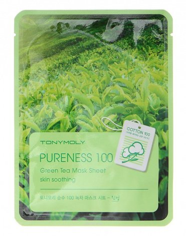 Тканевые маски Pureness 100 Mask Sheet, Tony Moly 4