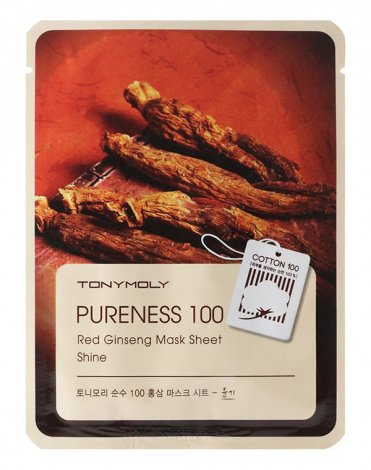 Тканевые маски Pureness 100 Mask Sheet, Tony Moly 2