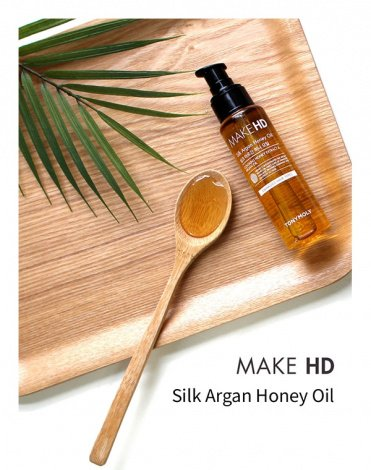 Масло для волос Make HD Silk Argan Honey Oil Tony Moly, 85 мл 2