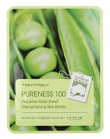 Тканевые маски Pureness 100 Mask Sheet, Tony Moly 3