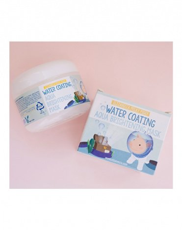 Увлажняющая маска Milky Piggy Water Coating Aqua Brightening Mask Elizavecca, 100 мл 3