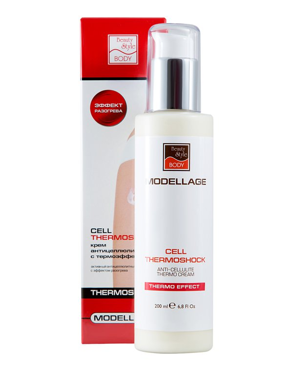 Антицеллюлитный крем Beauty Style  «CELL THERMOSHOCK», 200 мл, Modellage  2