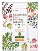 Набор тканевые маски для лица Иерихонская Роза Resurrection Plant Soothing Gel mask, Petitfee, 10 шт