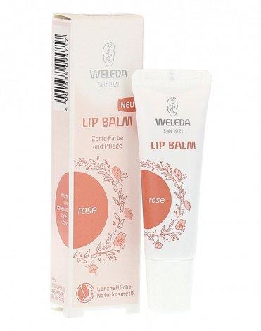 НОВИНКА: Увлажняющий бальзам для губ Berry red от Weleda