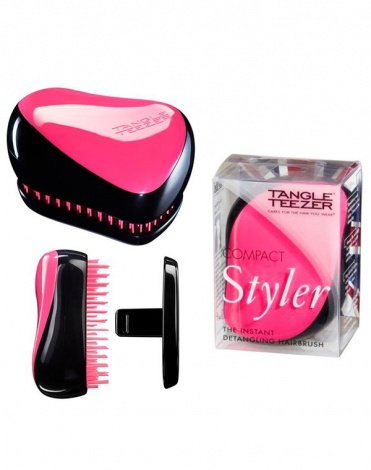 Расческа Compact Styler Pink Sizzle, Tangle Teezer 2