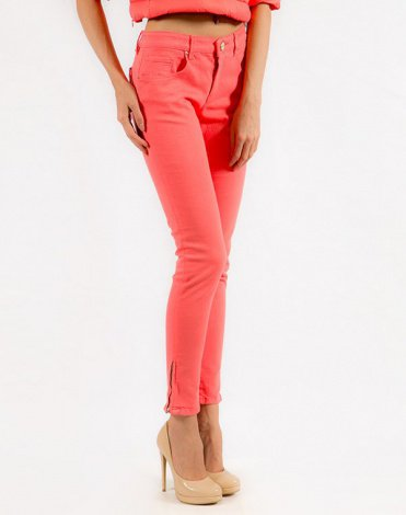 Pinko Tag Джинсы розовые Therese skinny 4